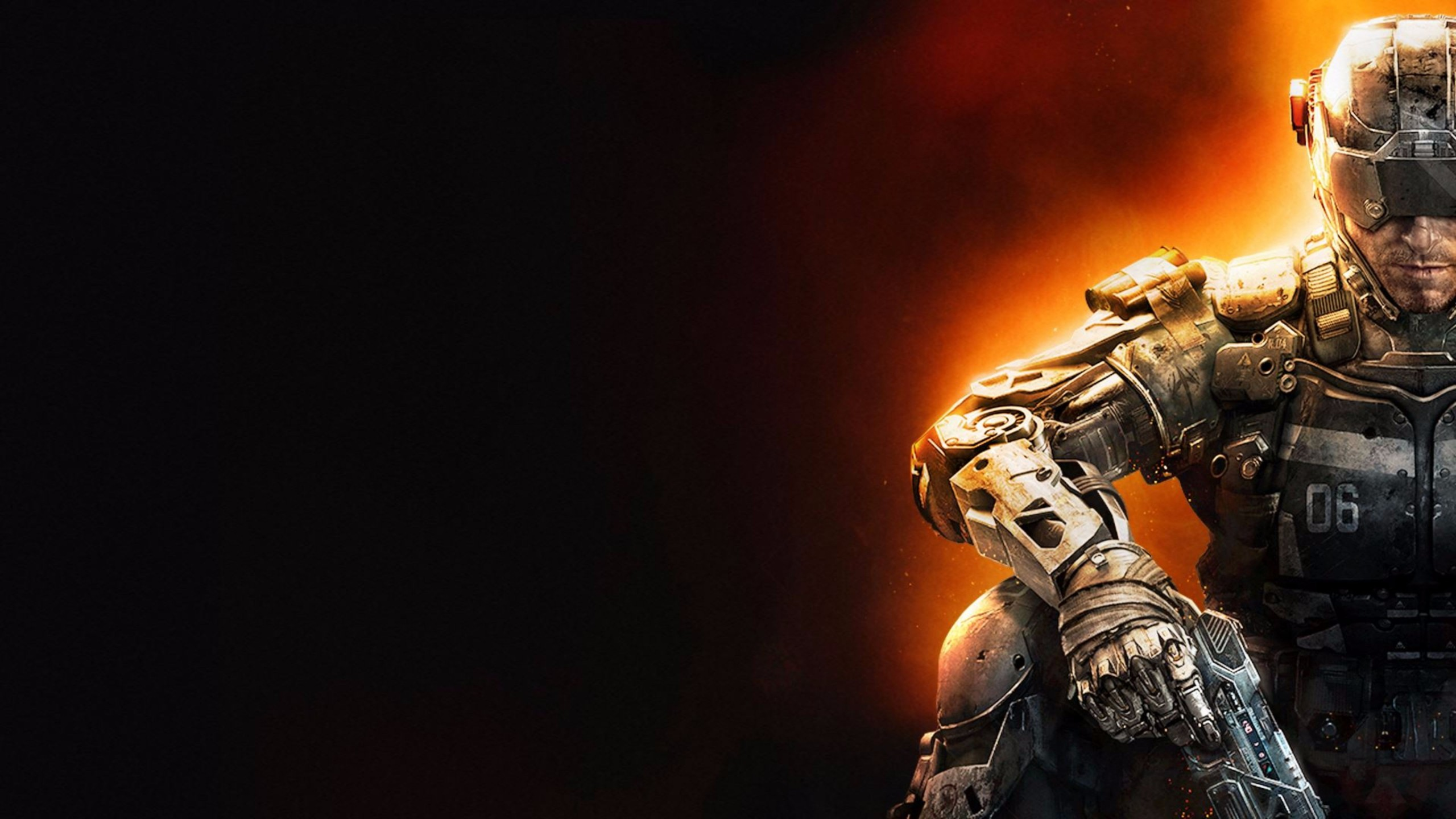 Download 2016 Call of Duty Black Ops 3 4K Wallpaper 2560x1440