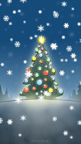 Christmas Slideshow Wallpapers with animated snow HD on the App. ← iPhone Animated Wallpaper