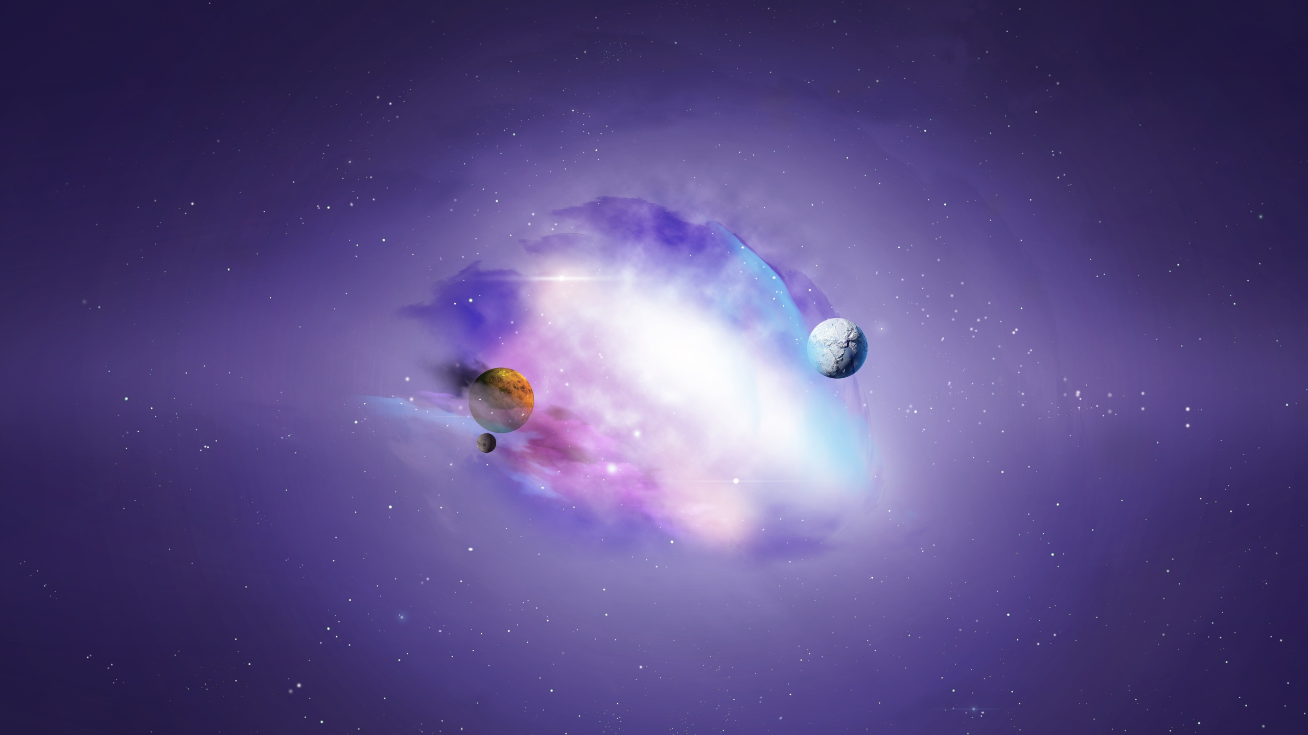 purple galaxy universe wallpaper desktop 2560x1440 2560x1440