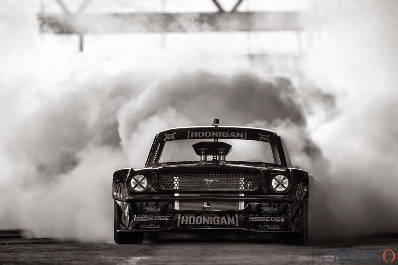 Hoonigan Mustang Gymkhana