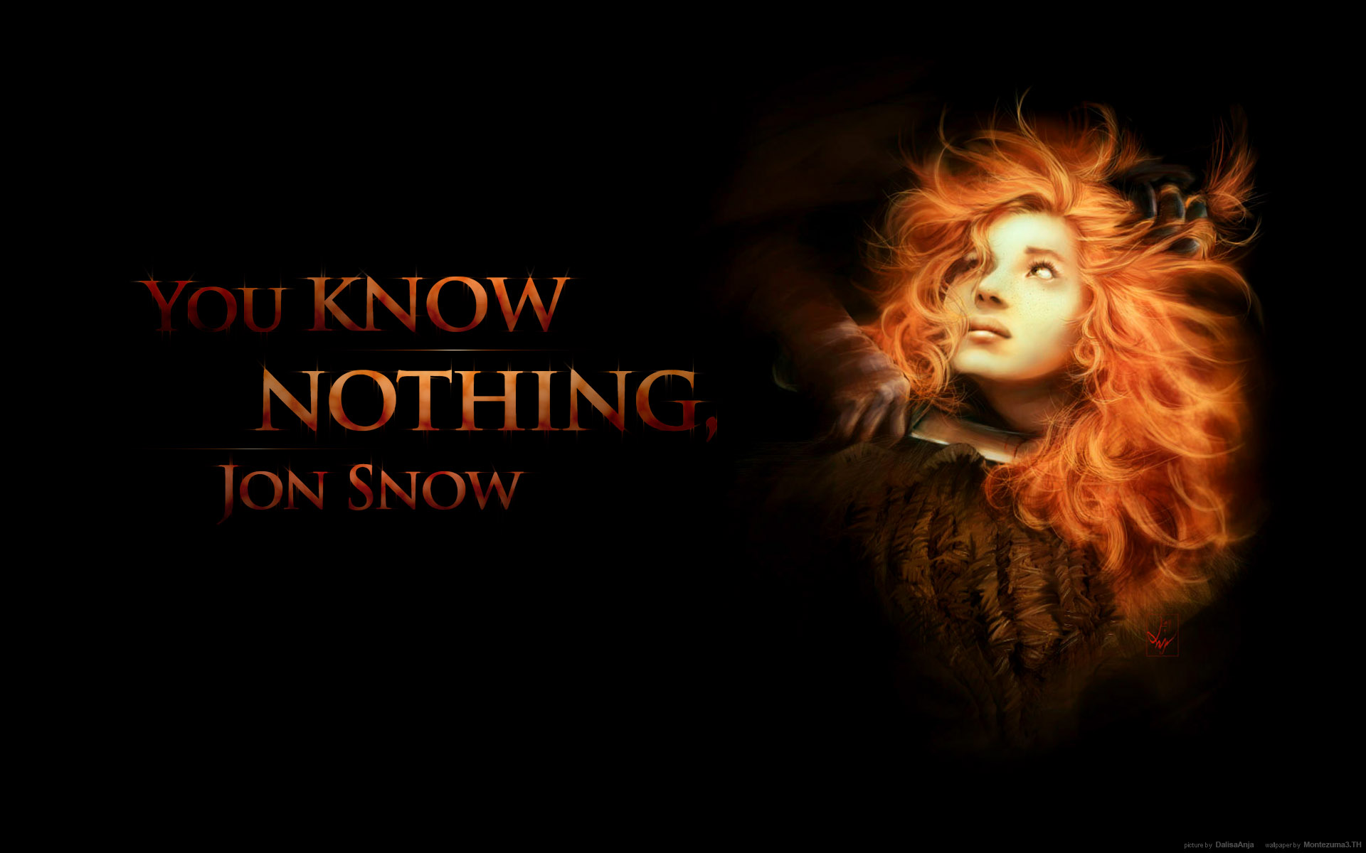 Ygritte   A Song of Ice and Fire Wallpaper 31074849 1920x1200