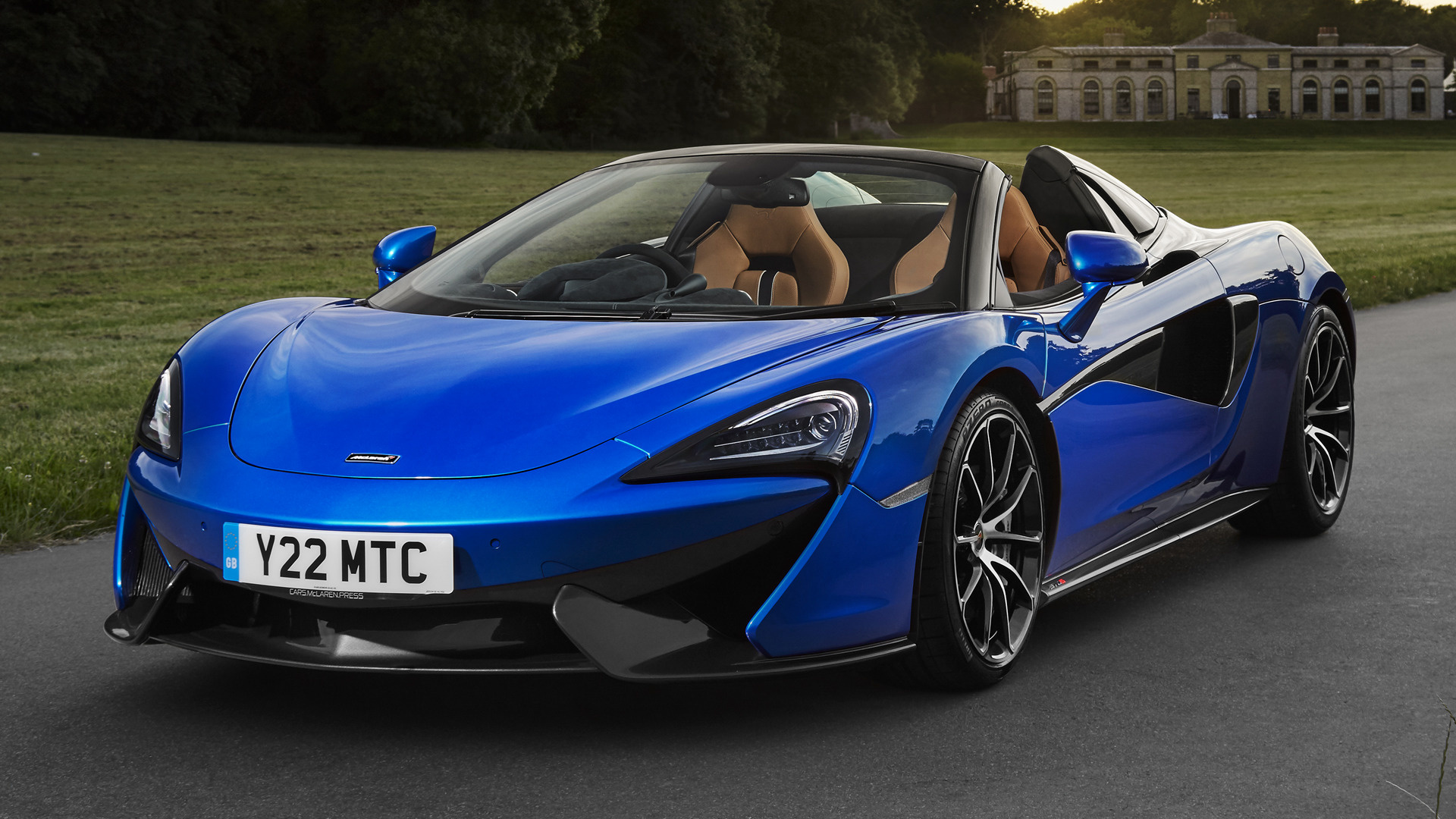 2017 McLaren 570S Spider UK   Wallpapers and HD Images Car Pixel 1920x1080