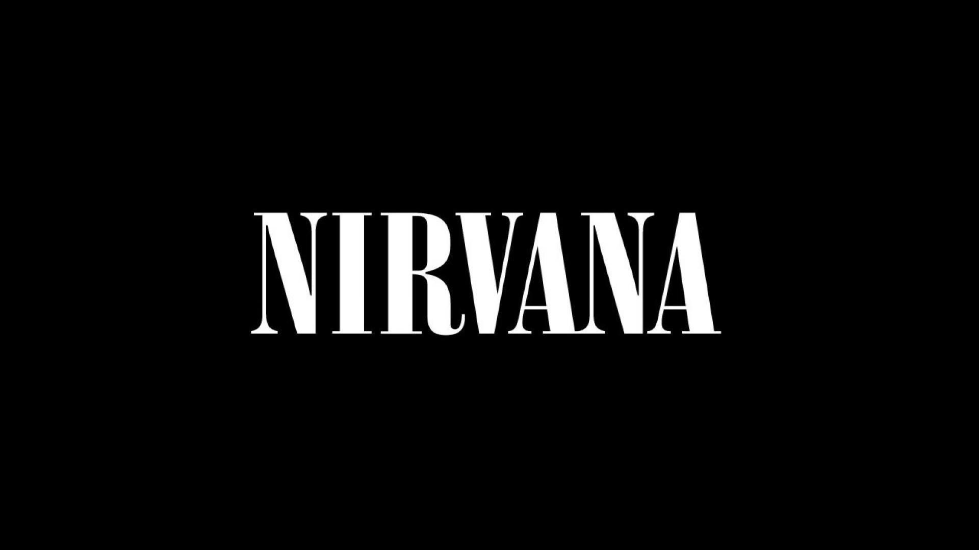 Nirvana Letters Logo Font Background 1920x1080