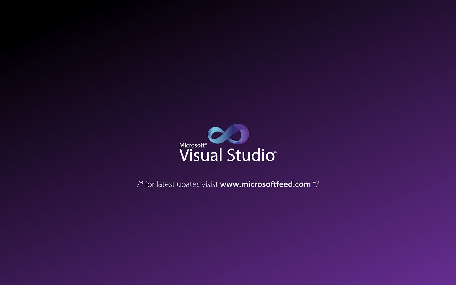 10 HD Microsoft Visual Studio Wallpaper Tam Super 1600x1000
