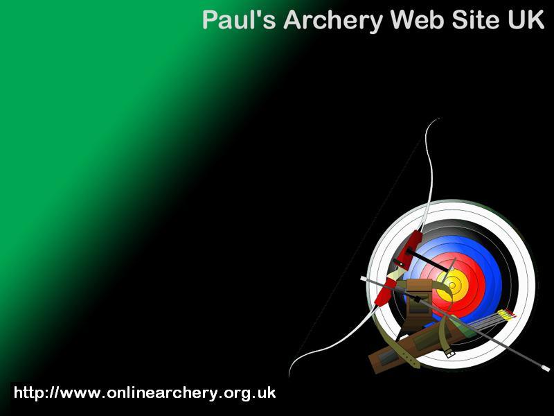 Archery target wallpaper