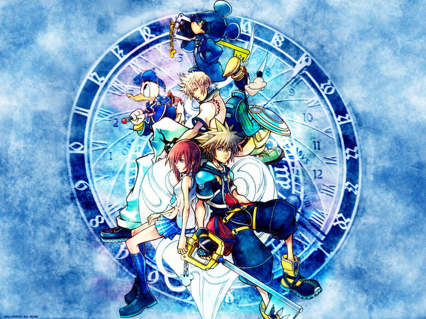 More Cool Kingdom Hearts Wallpapers 1366x1024