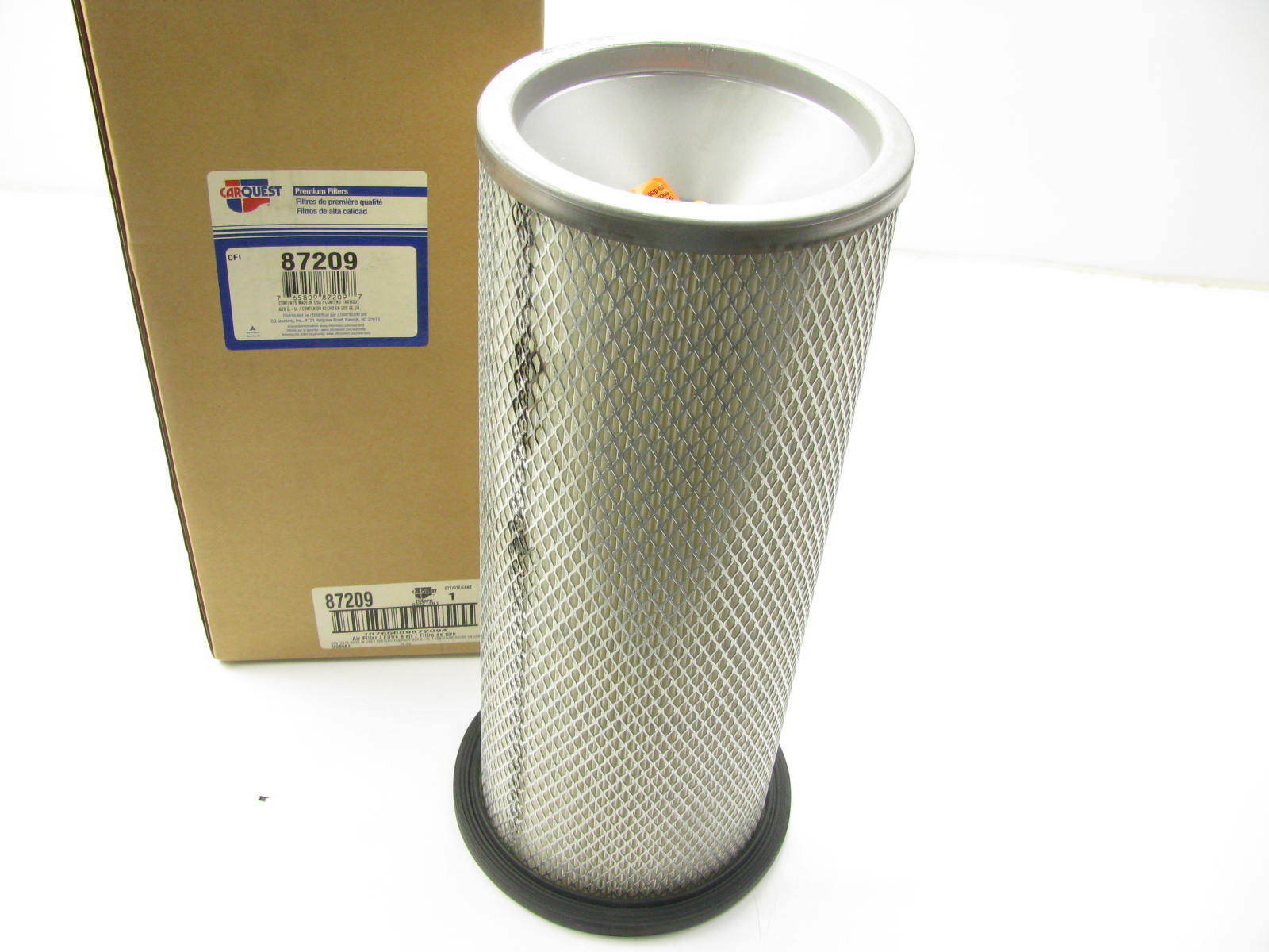 Carquest 87209 Air Filter Replaces 42209 A62200 LAF9373 AF1904M 1600x1200