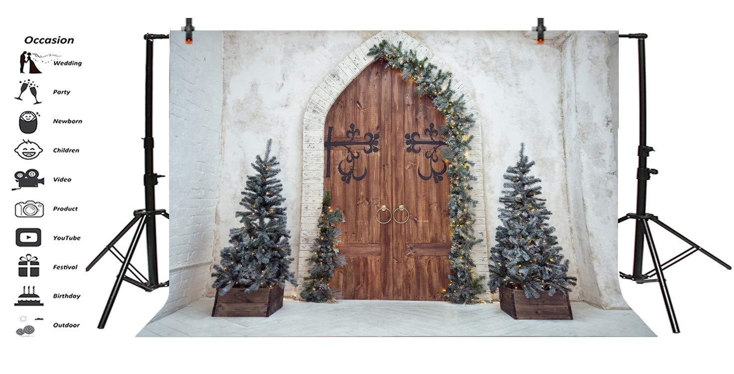 Amazoncom Leyiyi 5x3ft Merry Christmas Room Set Backdrop Rustic 1472x750