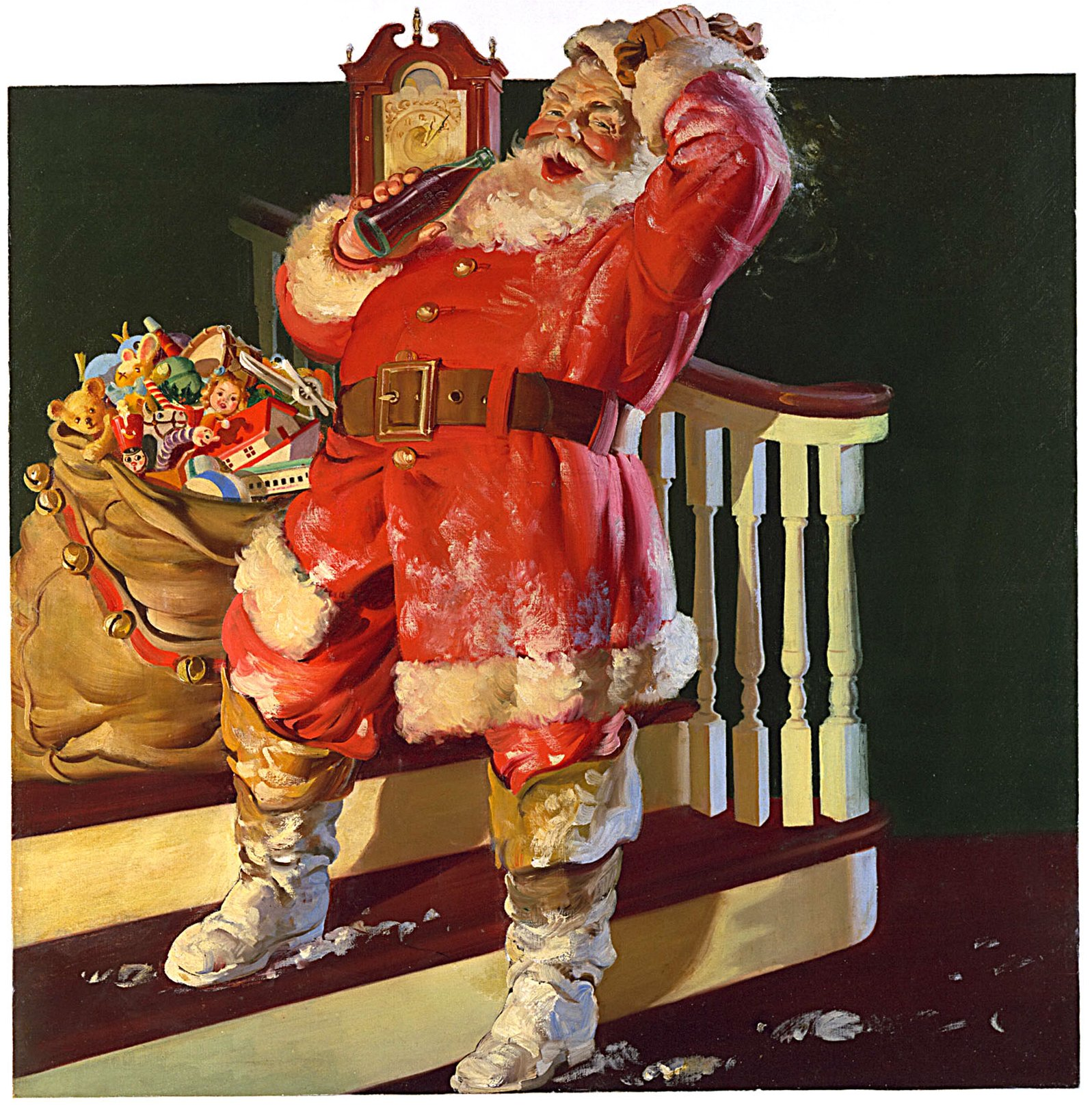 Norman Rockwell Christmas Paintings
