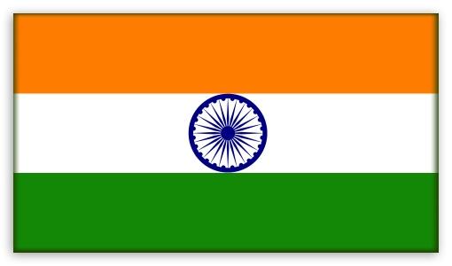 Indian National Flag Wallpaper 3D