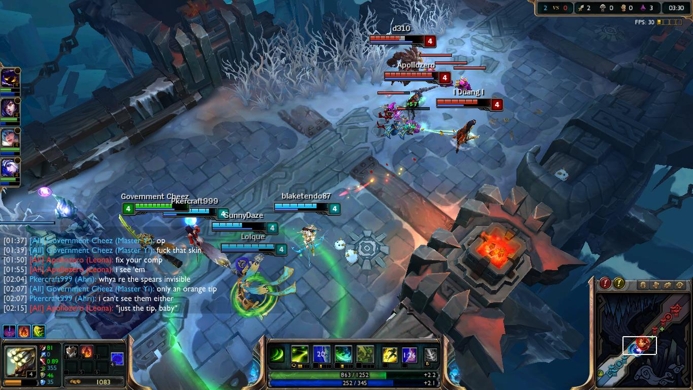 Warring Kingdoms Nidalee Invisible Spear 1366x768