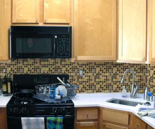 How to tile a travertine backsplash backsplash glass tiles canada 590x491