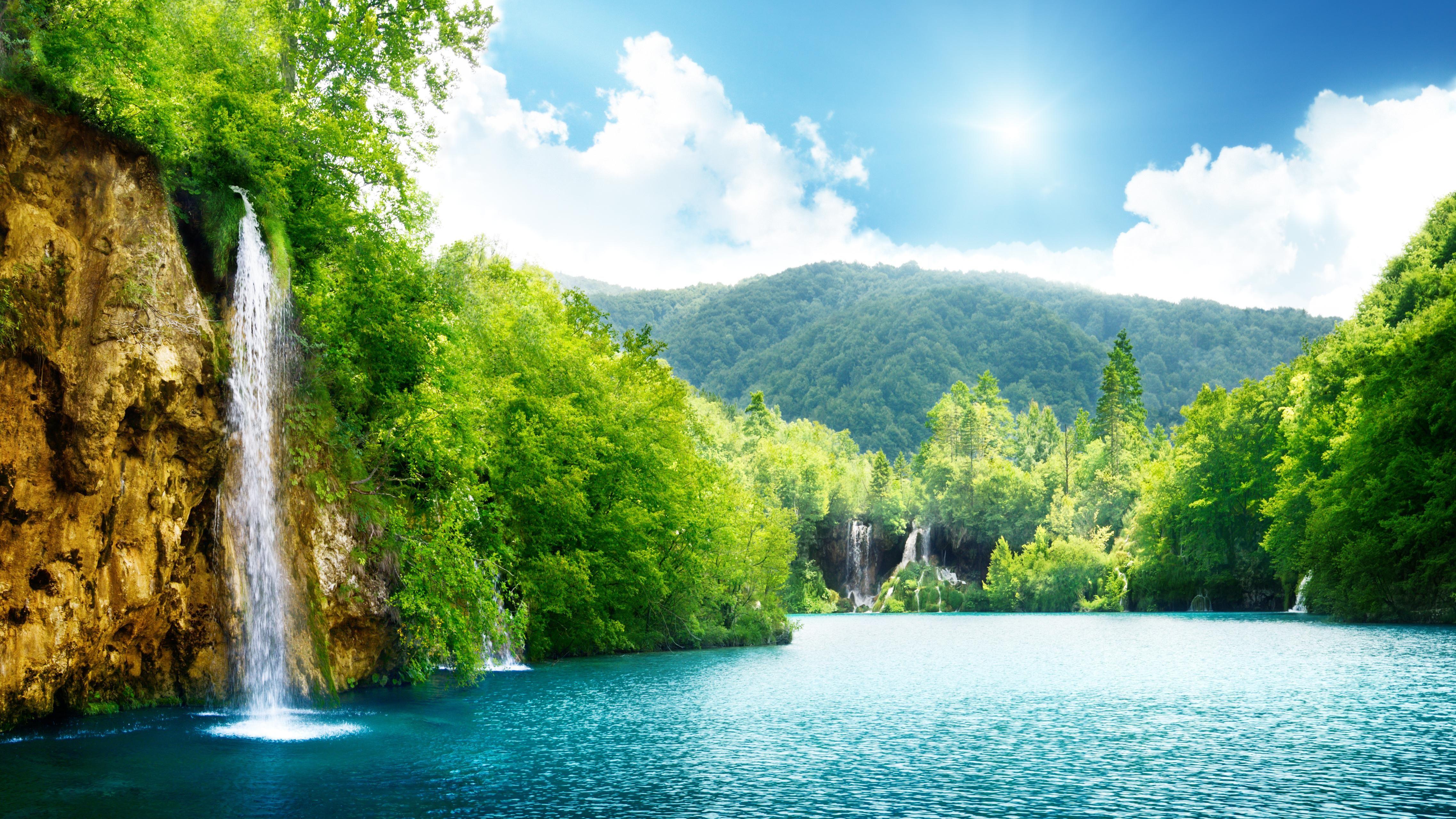 Cool Nature Waterfall 188   Nature HD Desktop Wallpaper Me in 4550x2559
