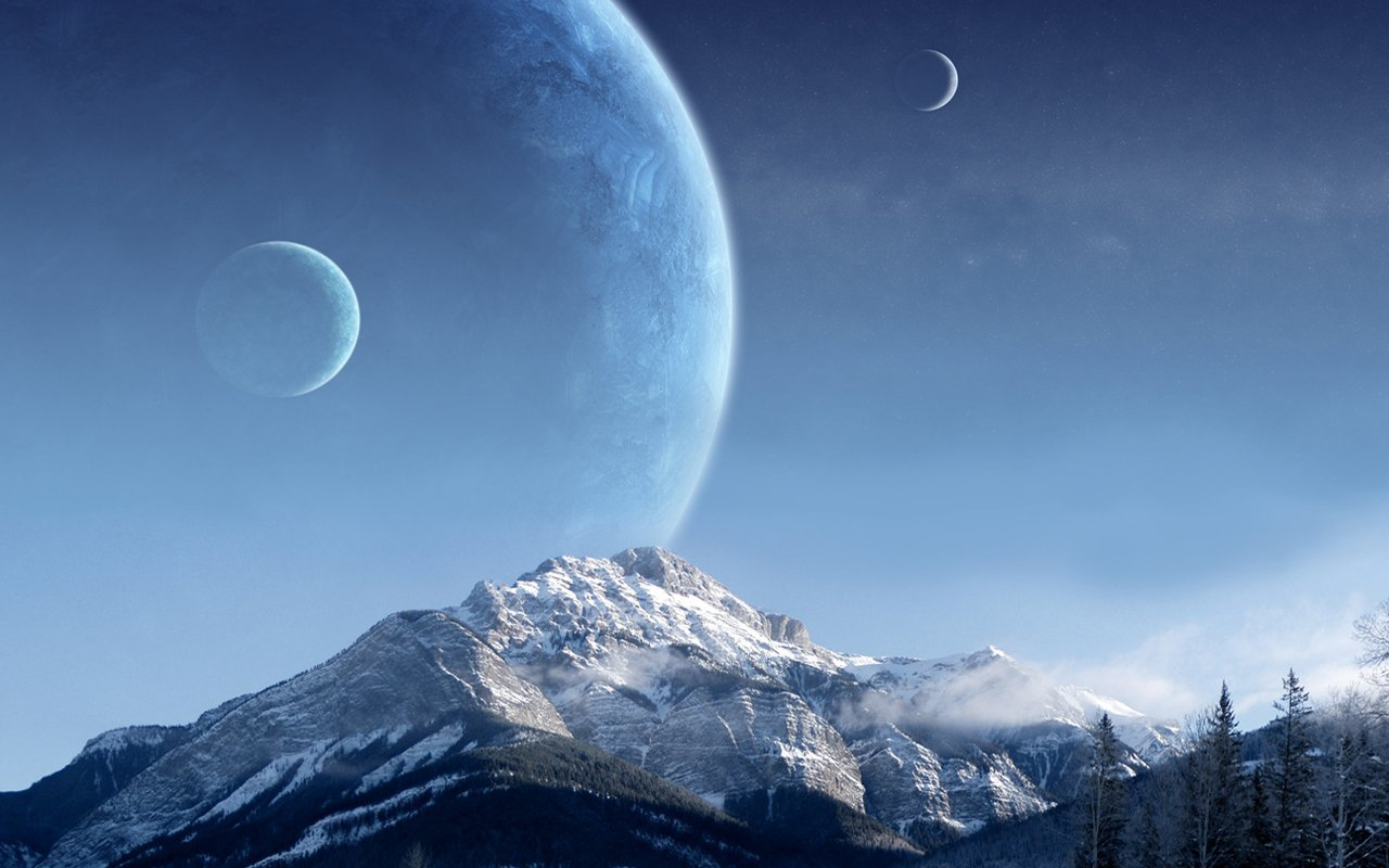 HQ Sci Fi Planets 42 Wallpaper   HQ Wallpapers 1280x800