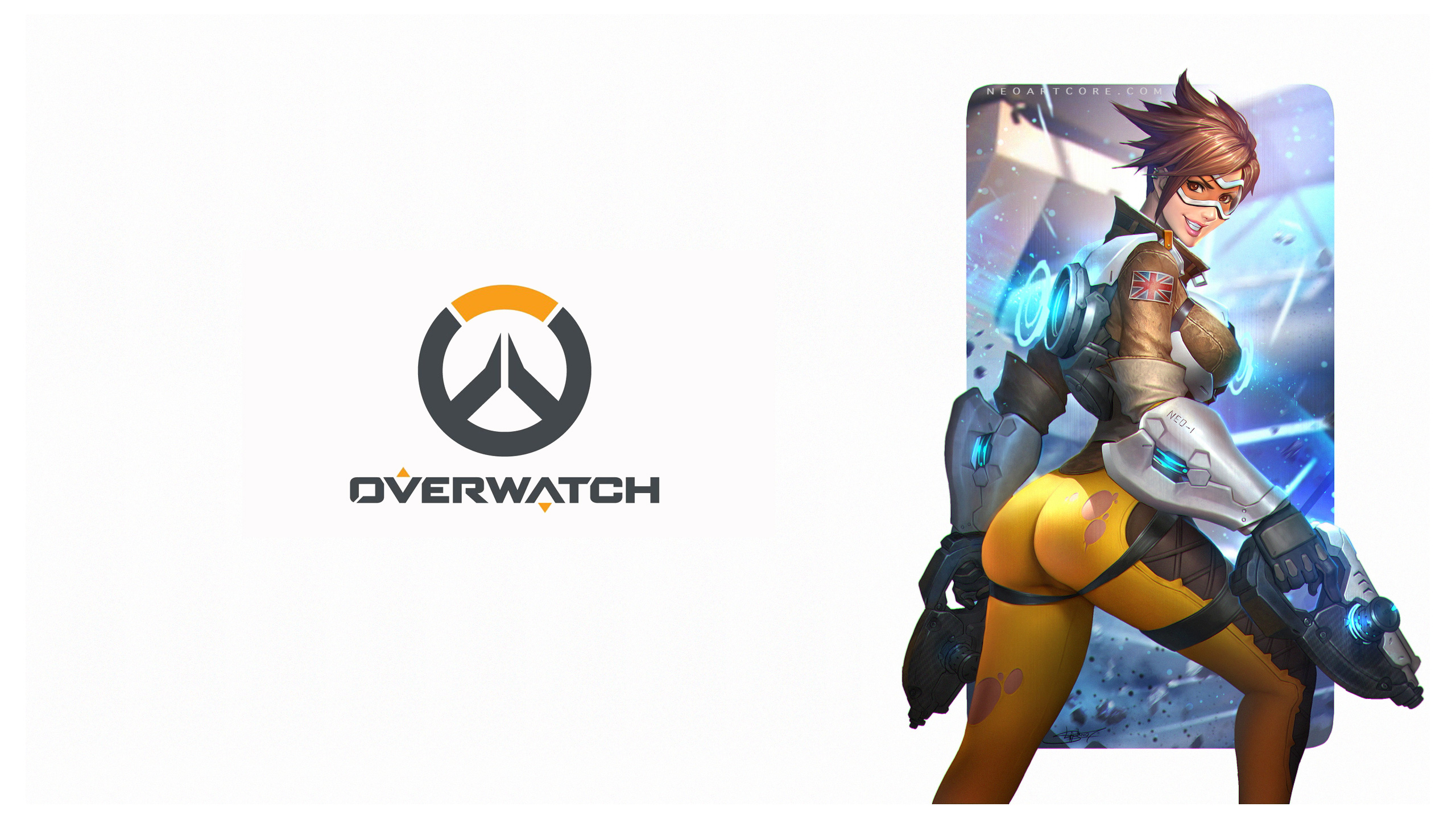 Overwatch Tracer Artwork Wallpapers HD Wallpapers 2560x1440