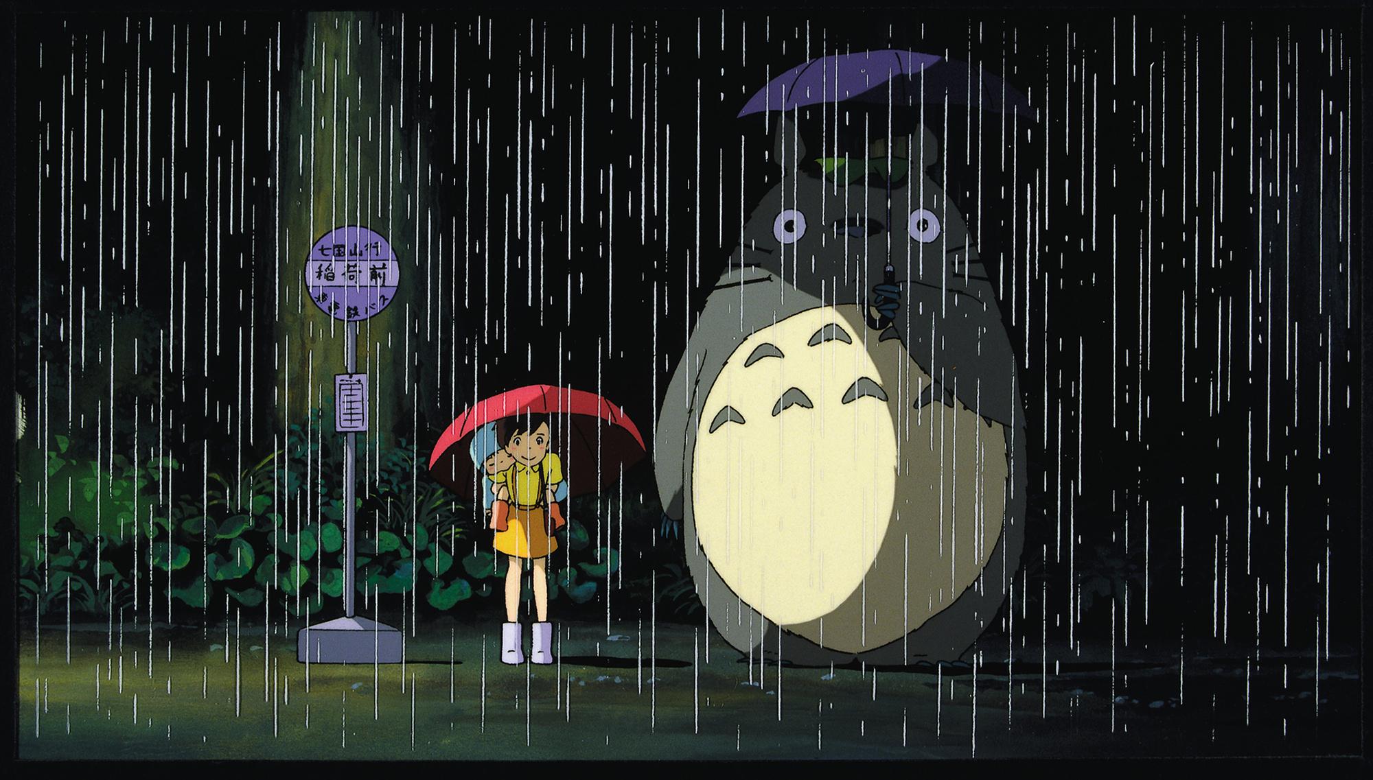 My Neighbor Totoro Computer Wallpapers Desktop Backgrounds 2000x1137