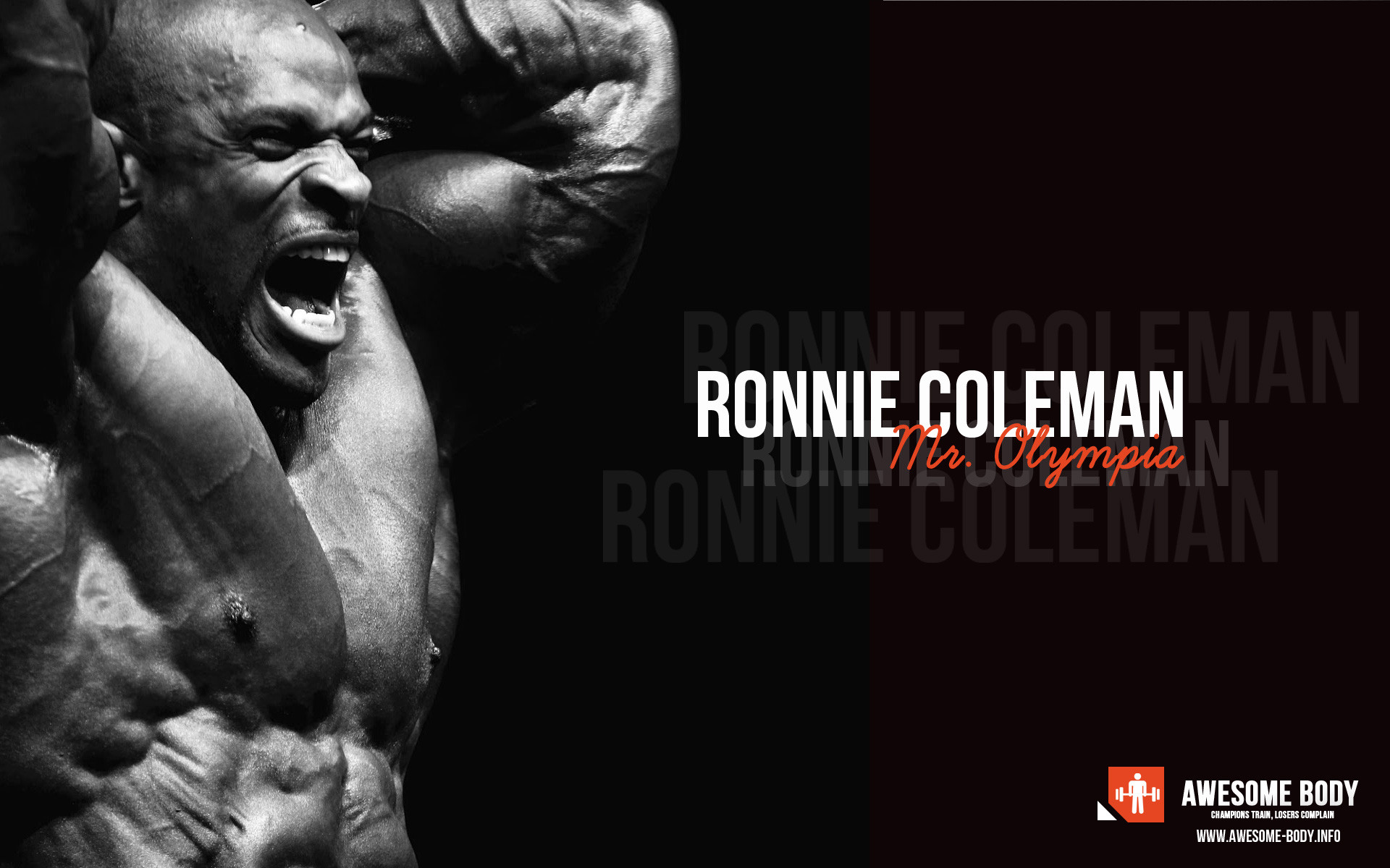 Ronnie Coleman Poster Mr Olympia HD Wallpapers Bodybuilding Wall 1920x1200