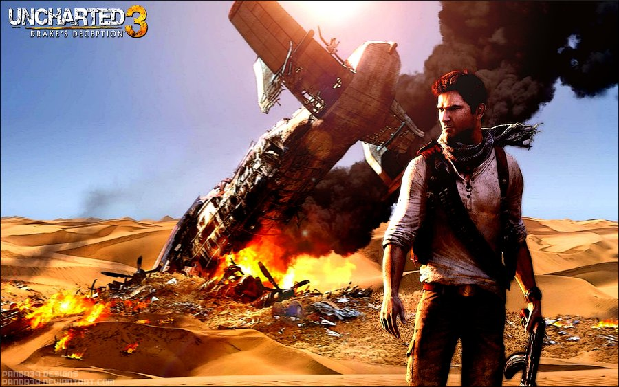 Uncharted Wallpaper Uncharted 3 hd wallpaper by 900x563