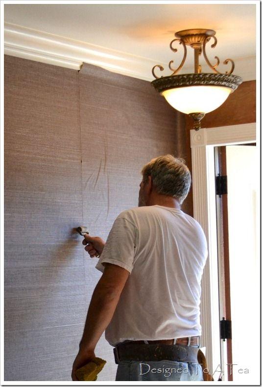 tips for hanging grasscloth wallpaper 2015   Grasscloth Wallpaper 535x788