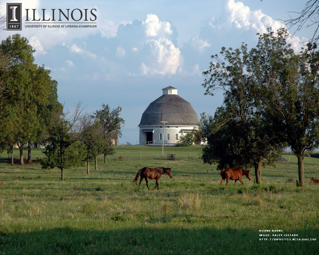 Round Barns UIHistories Project Virtual Tour at the University of 1280x1024