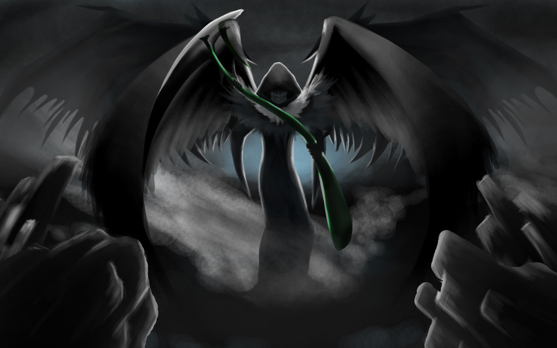 Grim Reaper With Wings Wallpaper wallpaper Grim Reaper With Wings 1920x1200