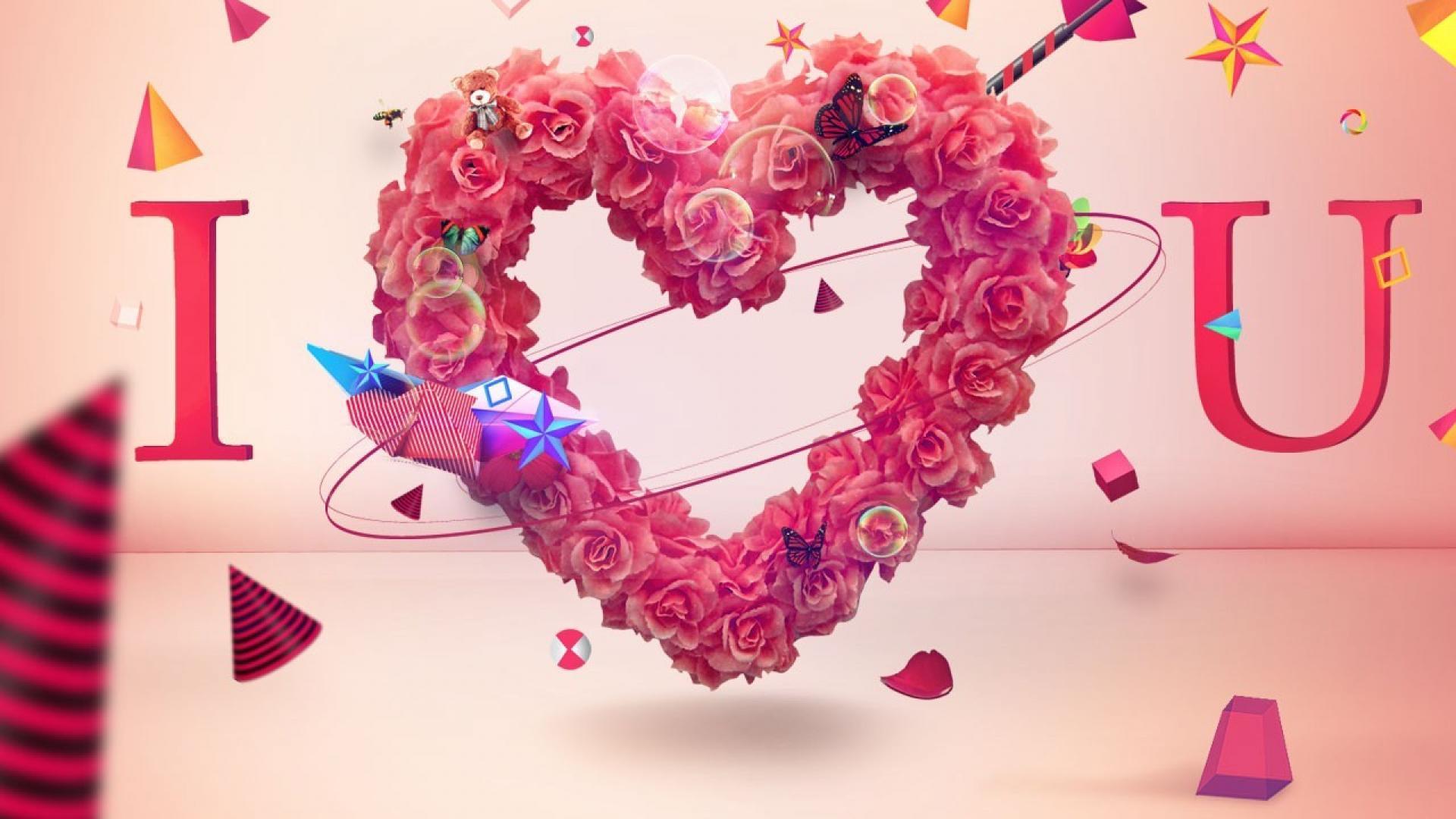 Love you wallpaper 31968 1920x1080