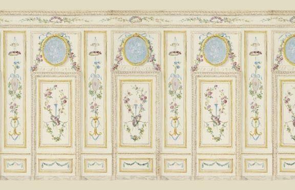 Dollhouse Wallpaper Art Panel 6005 eBay 576x372