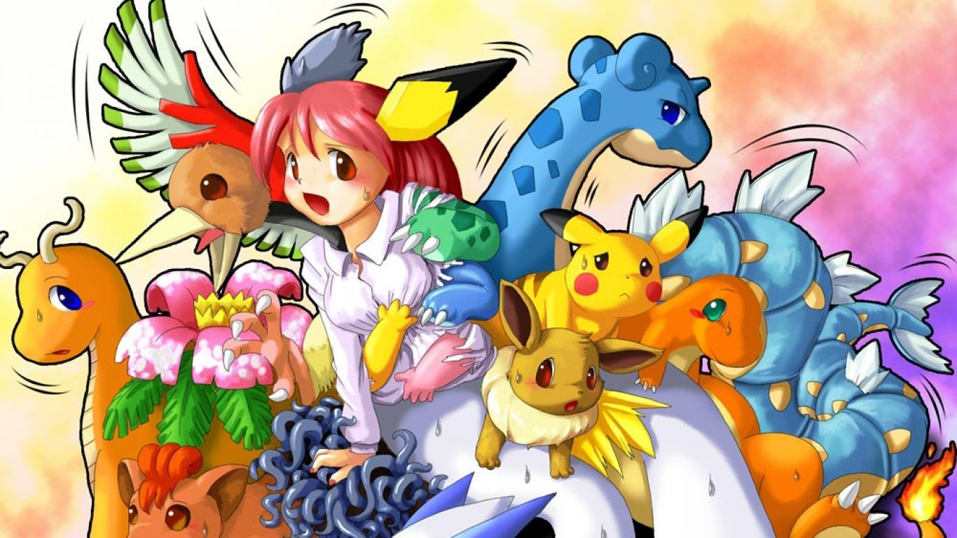 Pokemon   1366x768 1366x768