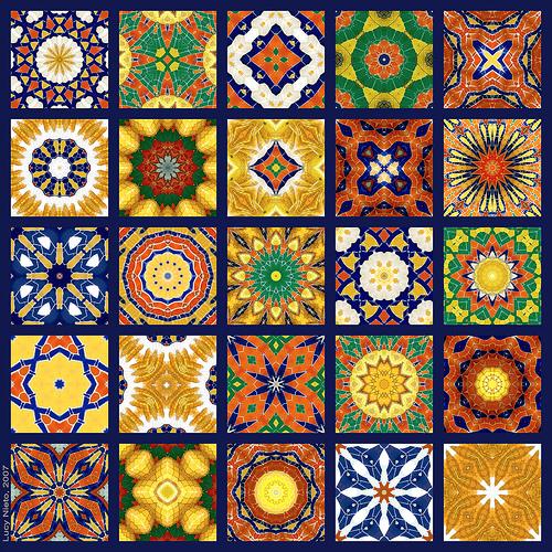 Mosaico fuente amarilla 1   a photo on Flickriver 500x500