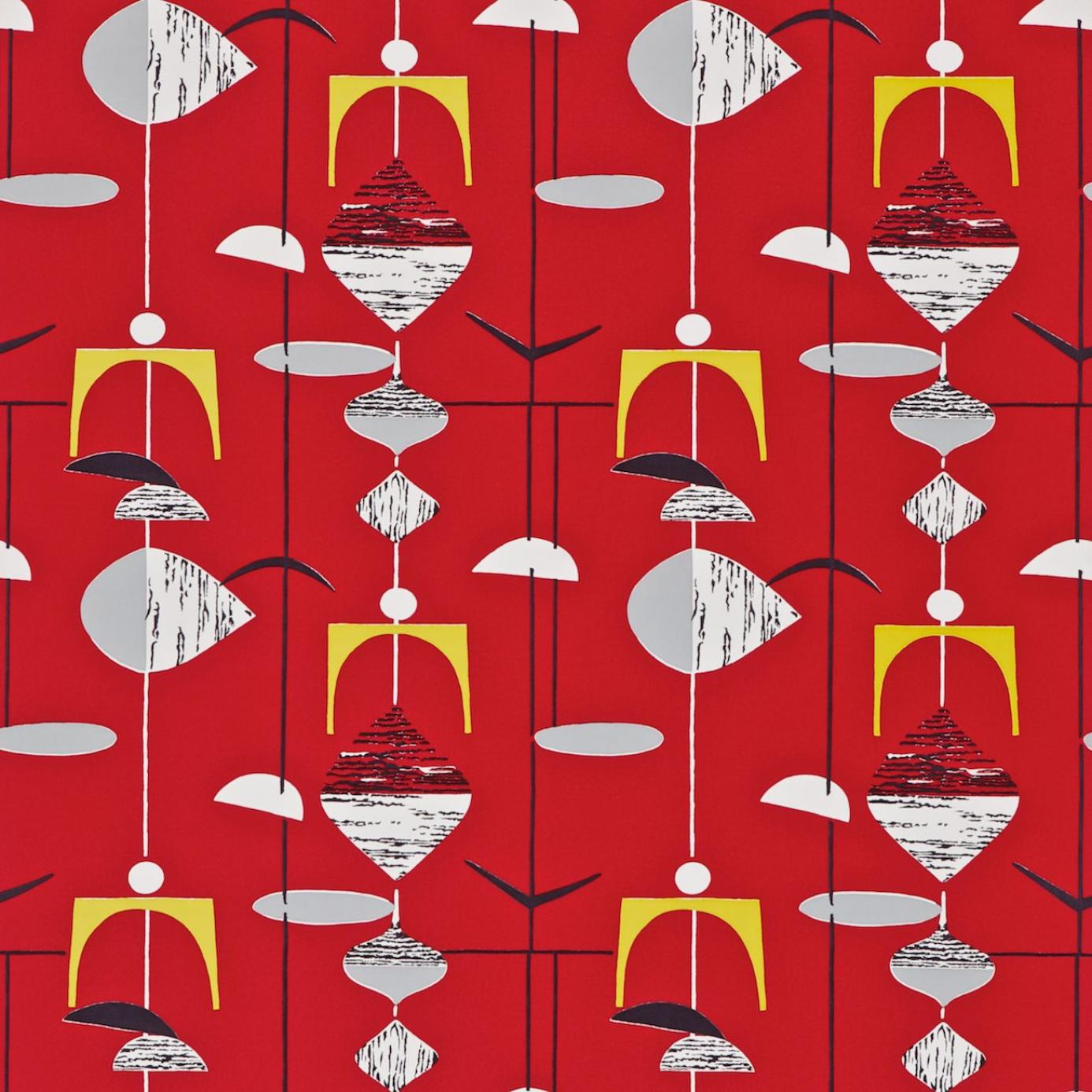 Home Wallpapers Sanderson 50s Wallpapers Mobiles Wallpaper Pillar Box 1386x1386