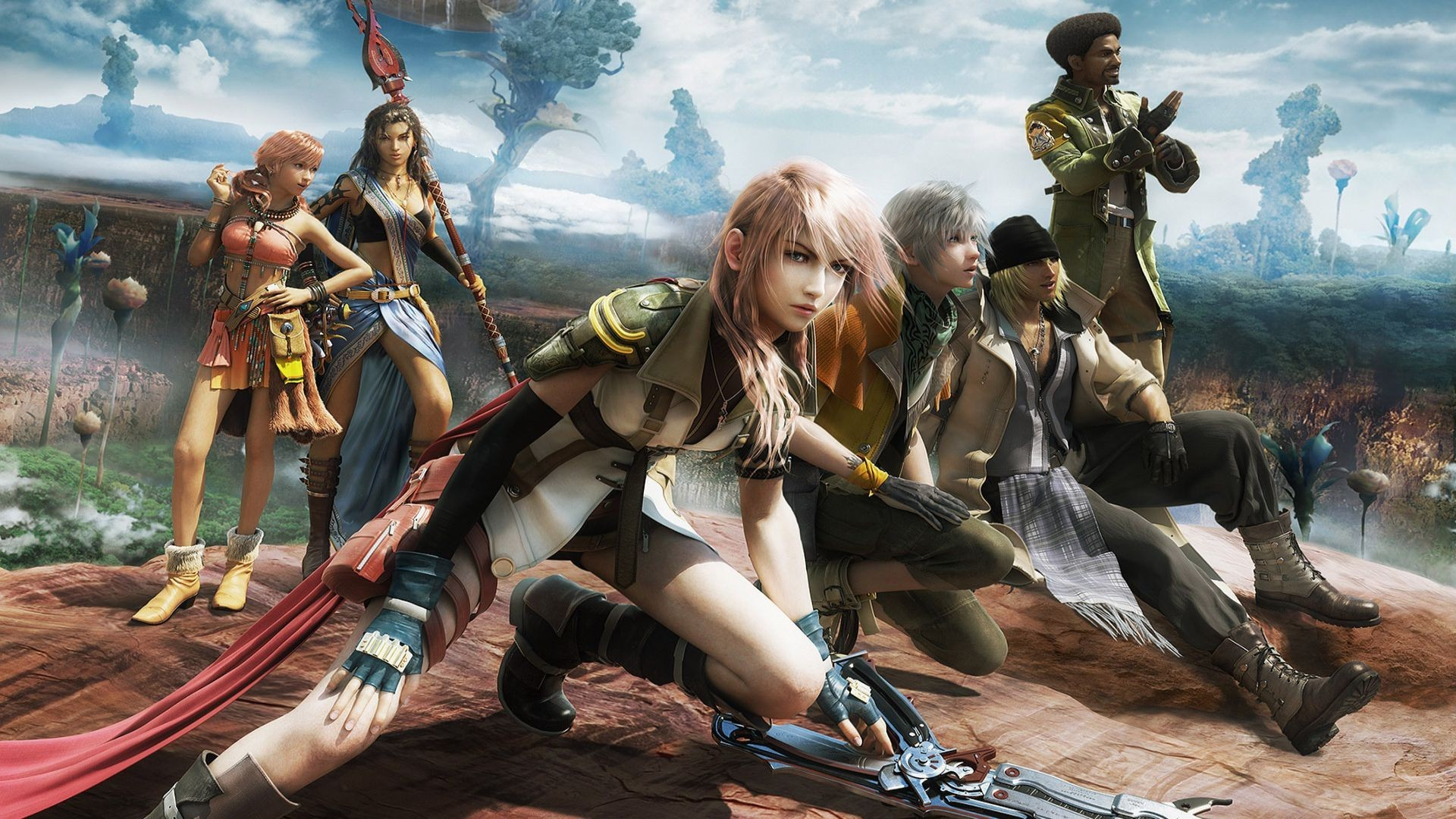 Lightning   Final Fantasy XIII wallpaper 7934 1920x1080