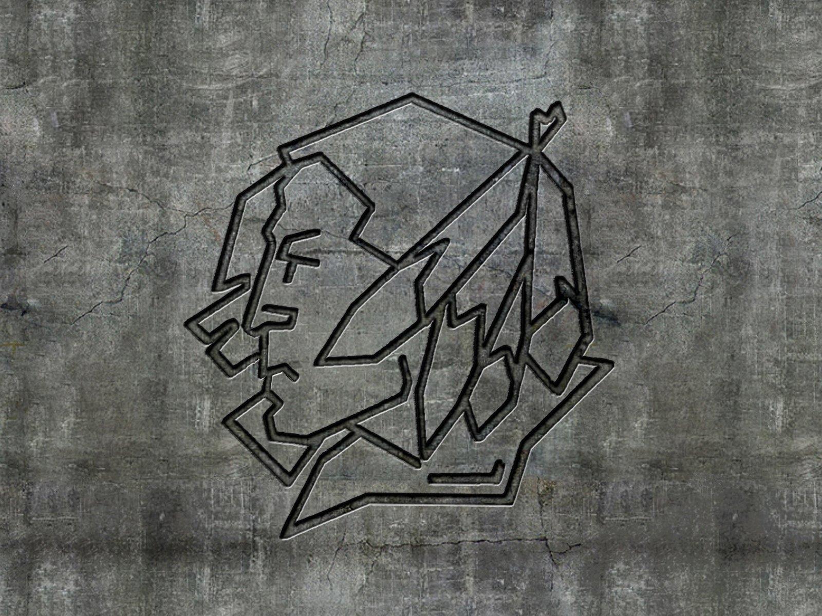 Concrete Logo Wallpaper STD 1600x1200