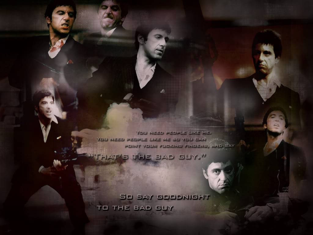 Scarface Wallpaper Photo by CoolRain3 Photobucket 1024x768
