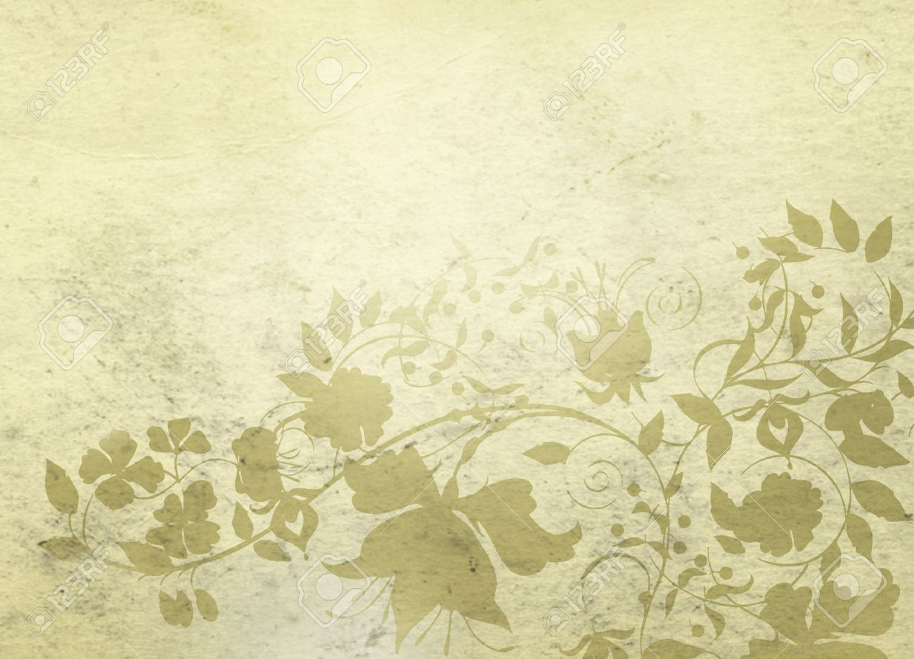 Classical Background With Floral Decorative Pattern Stock Photo 1300x938