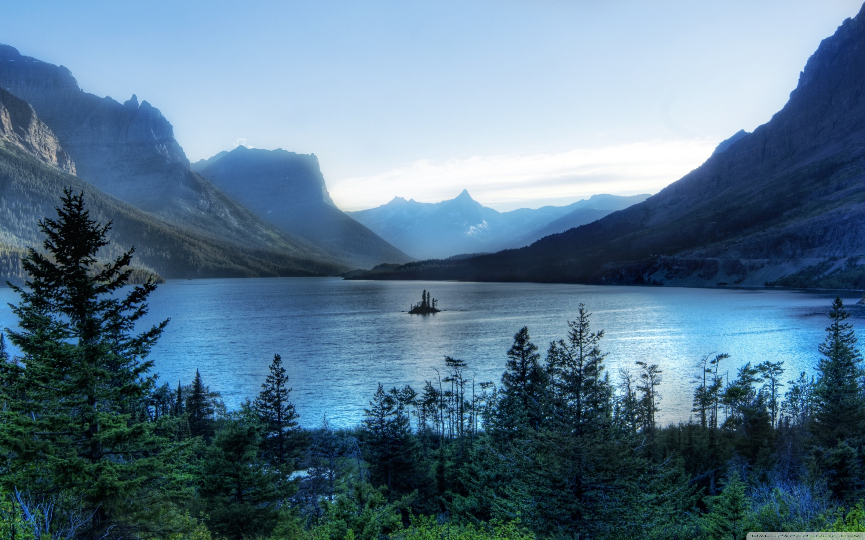 Free Download Morning At Glacier National Park 4k Hd Desktop