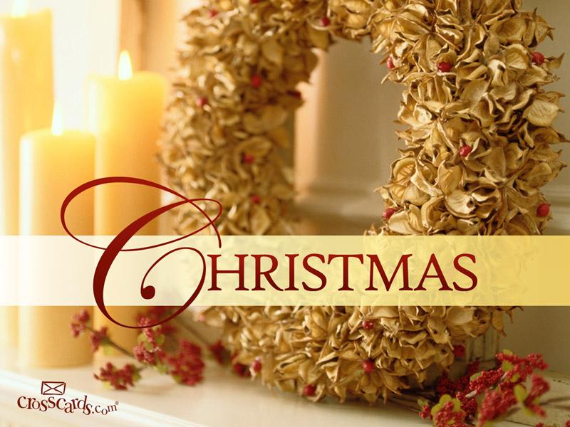 Christmas Wreath Desktop Wallpaper   Seasons Backgrounds 800x600