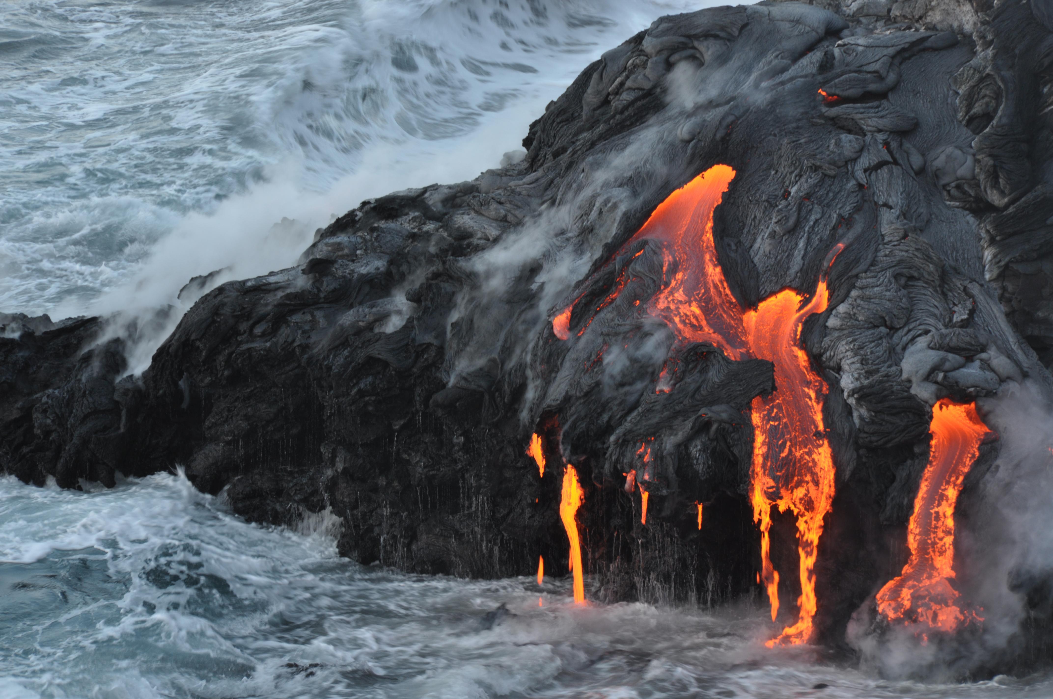 Hawaii Volcano Wallpaper Wallpapersafari