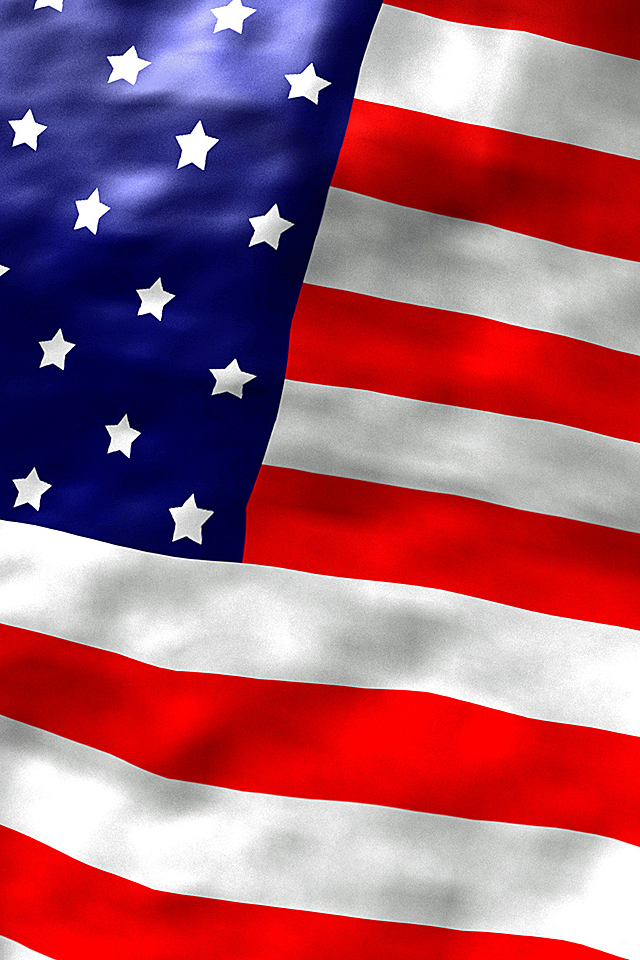 American Flag iPhone Wallpaper iPod Wallpaper HD   Download 640x960