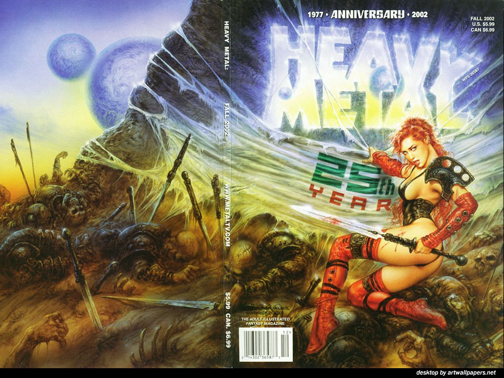 Heavy Metal Magazine Wallpaper 1024x768