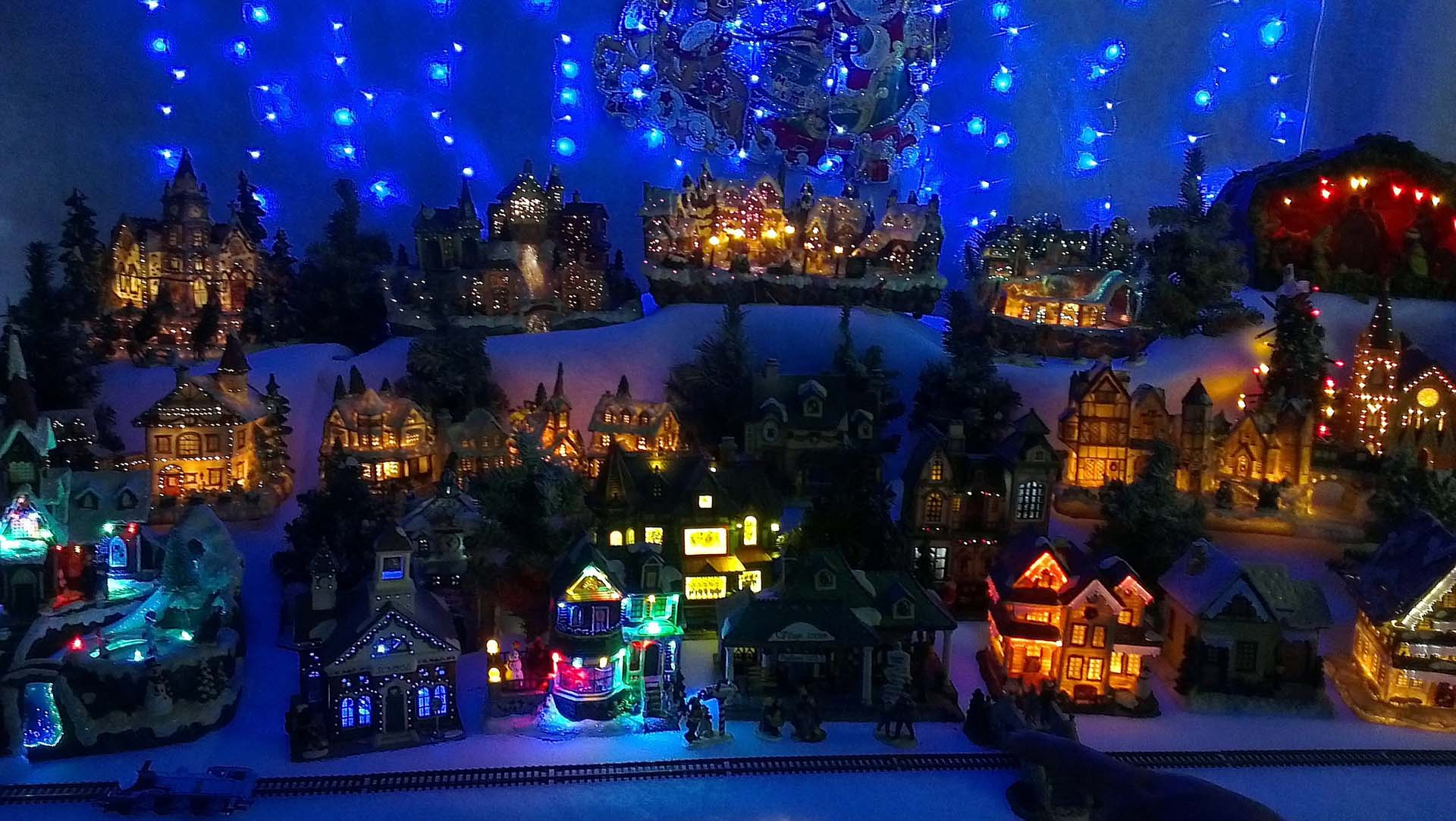 Christmas Village Background Wallpapers9 1920x1082