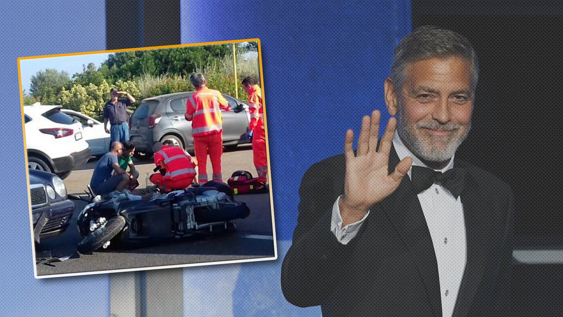 Actor George Clooney Recovering After Serious Motorcycle Crash in 1920x1080