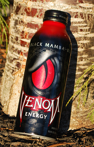 Venom energy drink logo wallpapers 400x624