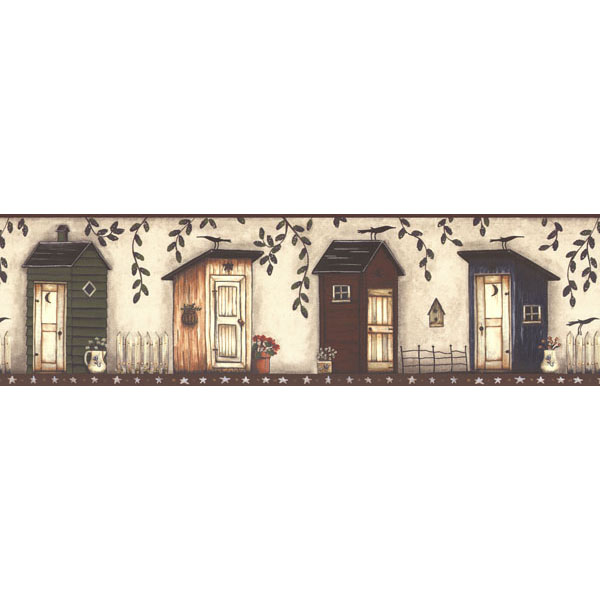 451 1795 Off White Country Outhouse   Brewster Wallpaper Borders 600x600
