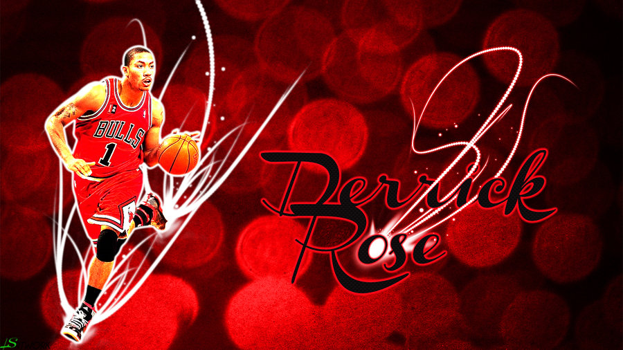 Derrick Rose Wallpaper by lukephotoshop 900x506
