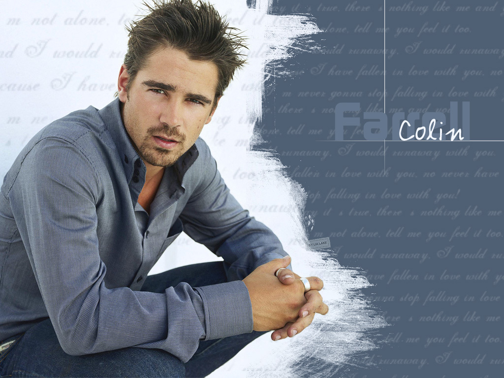 Colin Sexy Wallpaper   Colin Farrell Wallpaper 9829242 1024x768