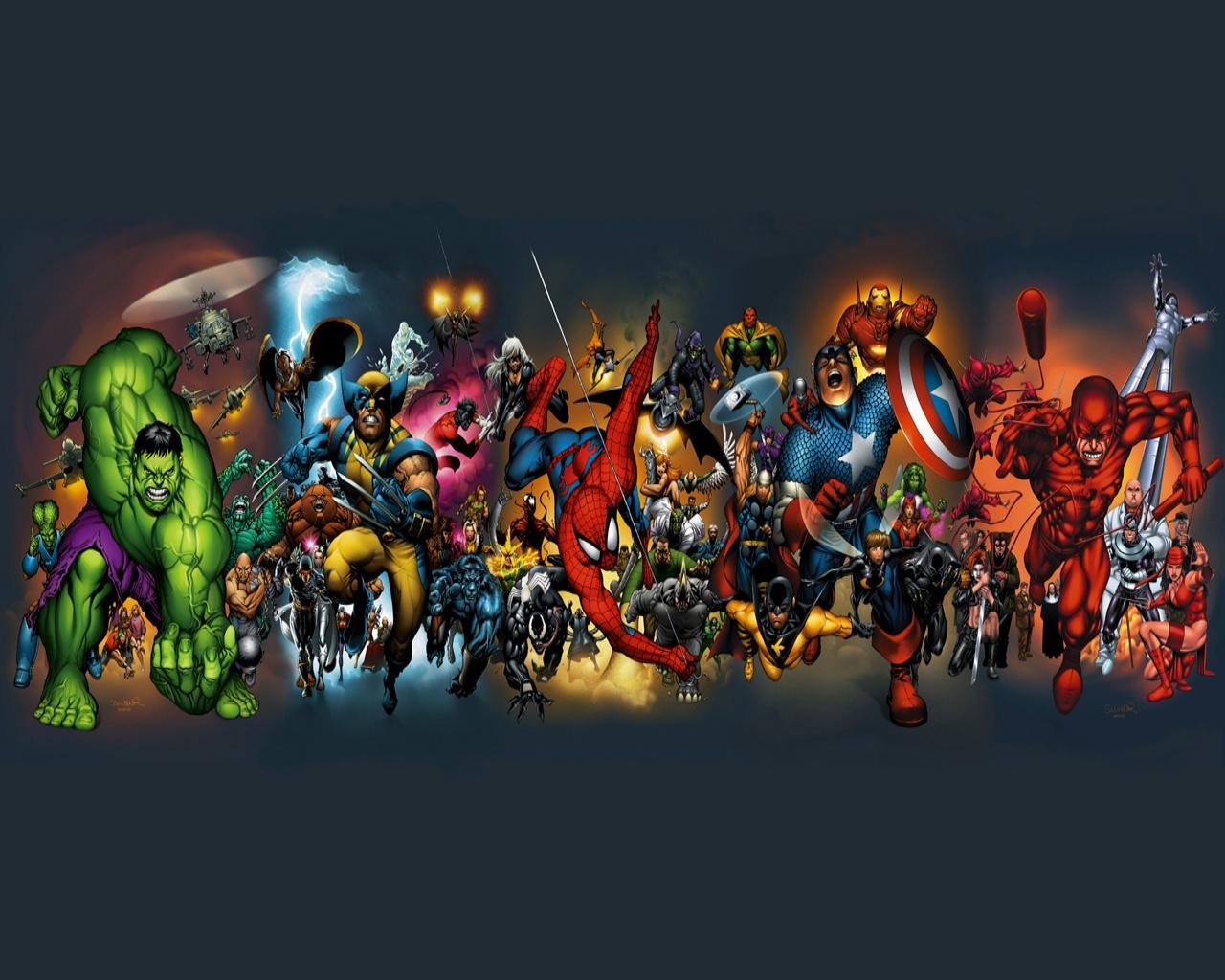 Marvel Comics Desktop Wallpaper