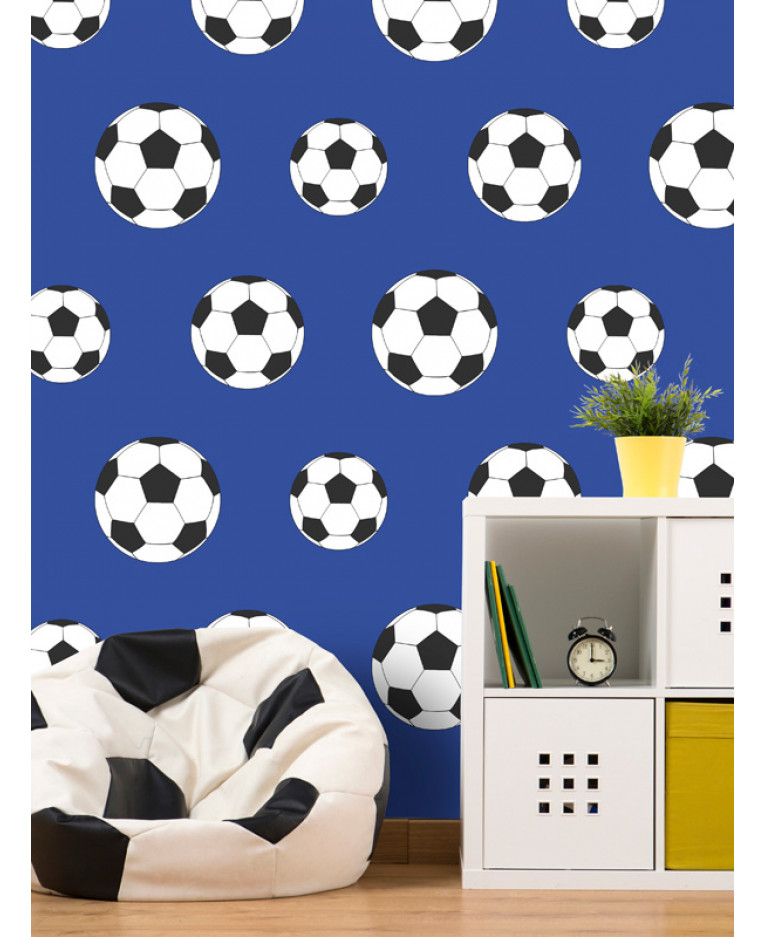 Goal Football Wallpaper   Dark Blue 9721 Belgravia Decor Bedroom 765x937