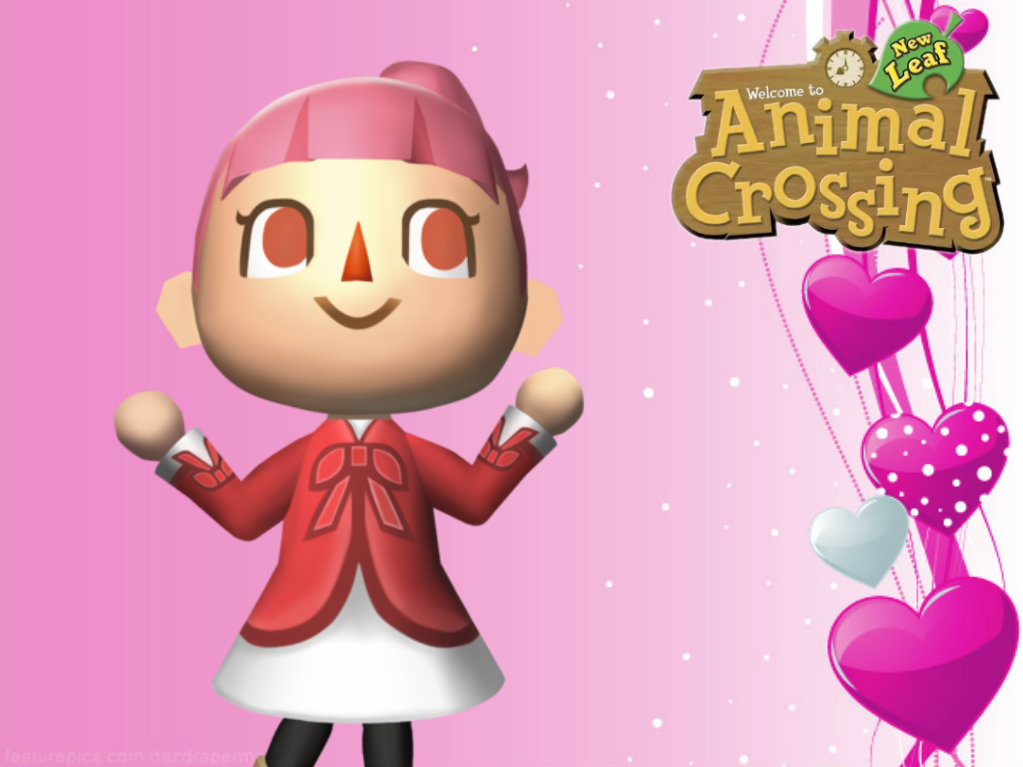 Free Download Animal Crossing New Leaf Wallpaper Girl By
