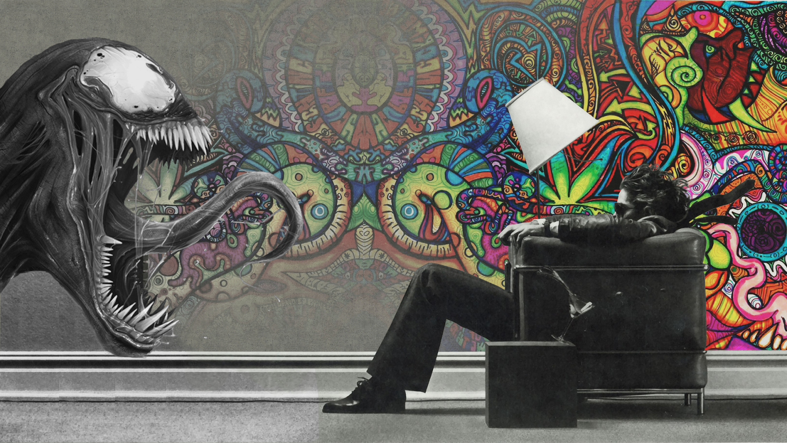 Free download Awesome Psychedelic Alien Surreal HD Wallpaper HD