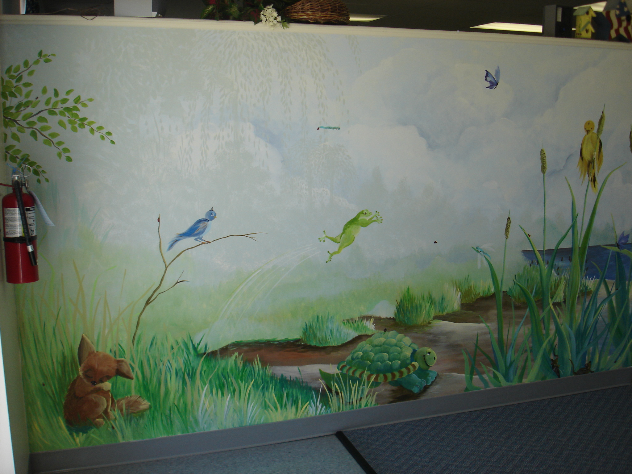 Hand Painted Wall Murals 2048x1536